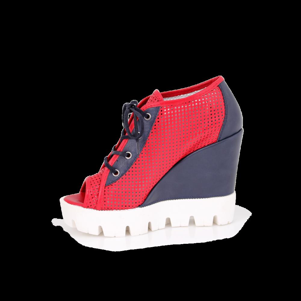 Дамски летни обувки от естествена кожа  - 2