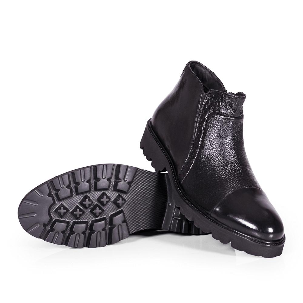 Мъжки обувки от естествена кожа GRI-3750-02 - 4