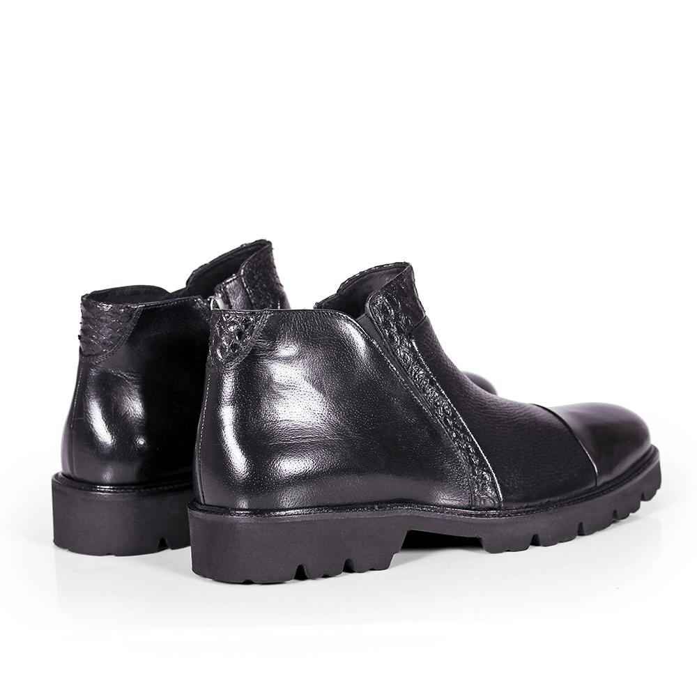 Мъжки обувки от естествена кожа GRI-3750-02 - 5