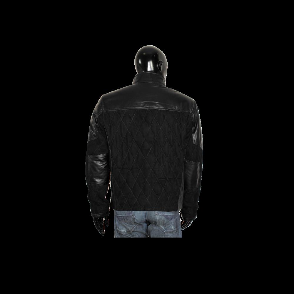 Мъжко яке от естествена велур - 2