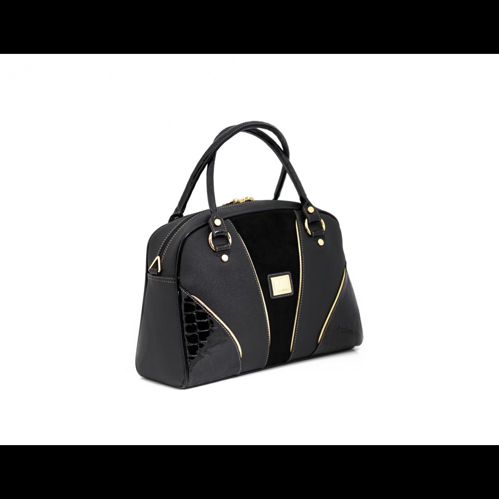 Дамска чанта естествена и еко кожа - 3