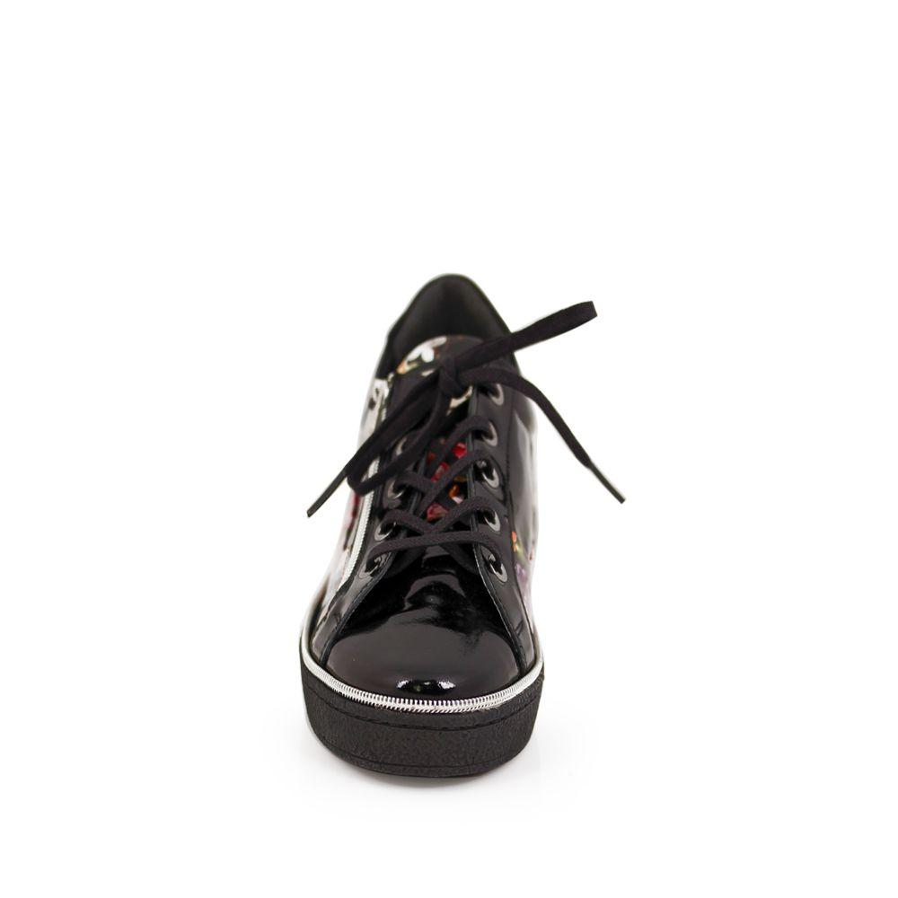 Дамски спортни обувки естествен лак - 3