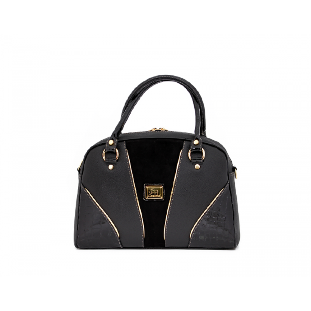 Дамска чанта естествена и еко кожа - 1