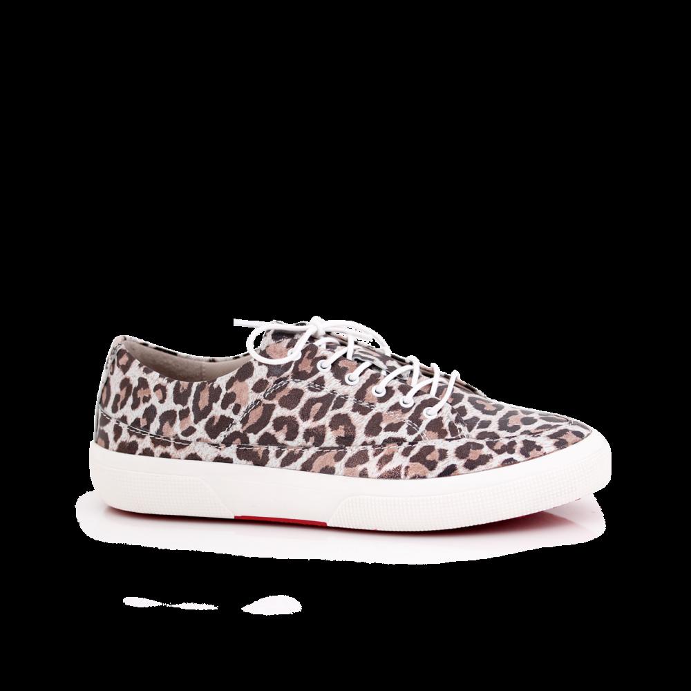 Дамски спортни обувки естествена кожа - 1