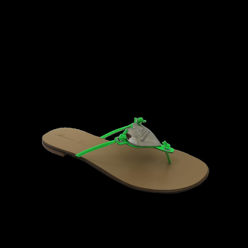 дамски чехли естествена кожа - 1