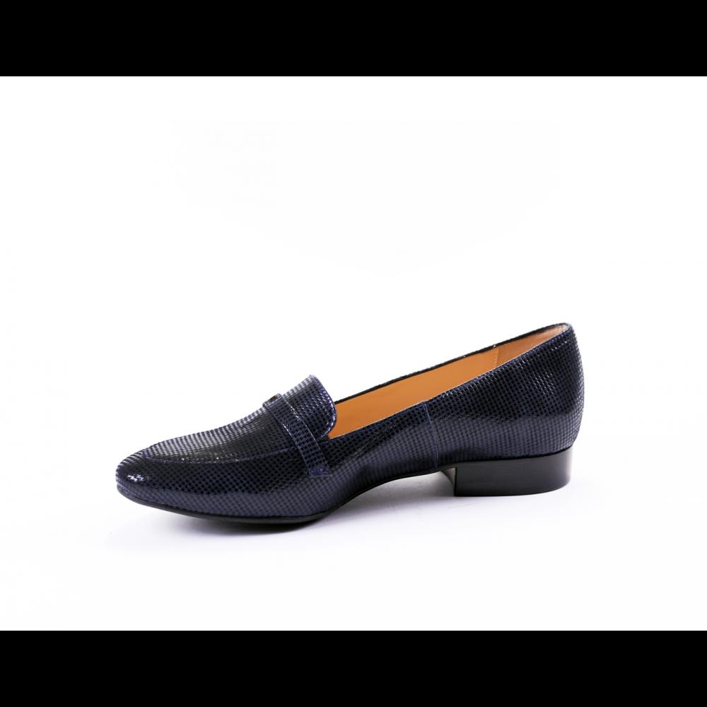 Дамски обувки естествена синя кожа - 2