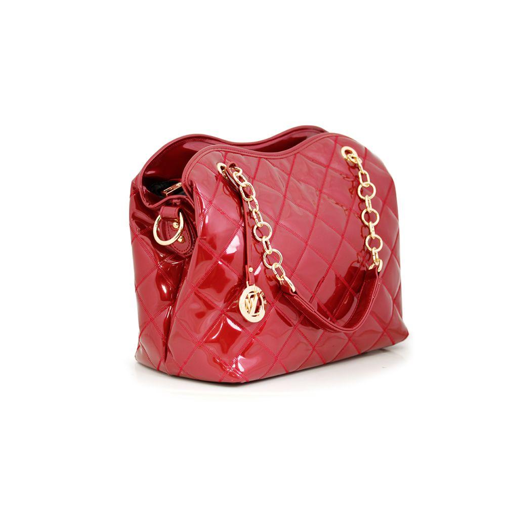 Дамска чанта от еко лак - 3