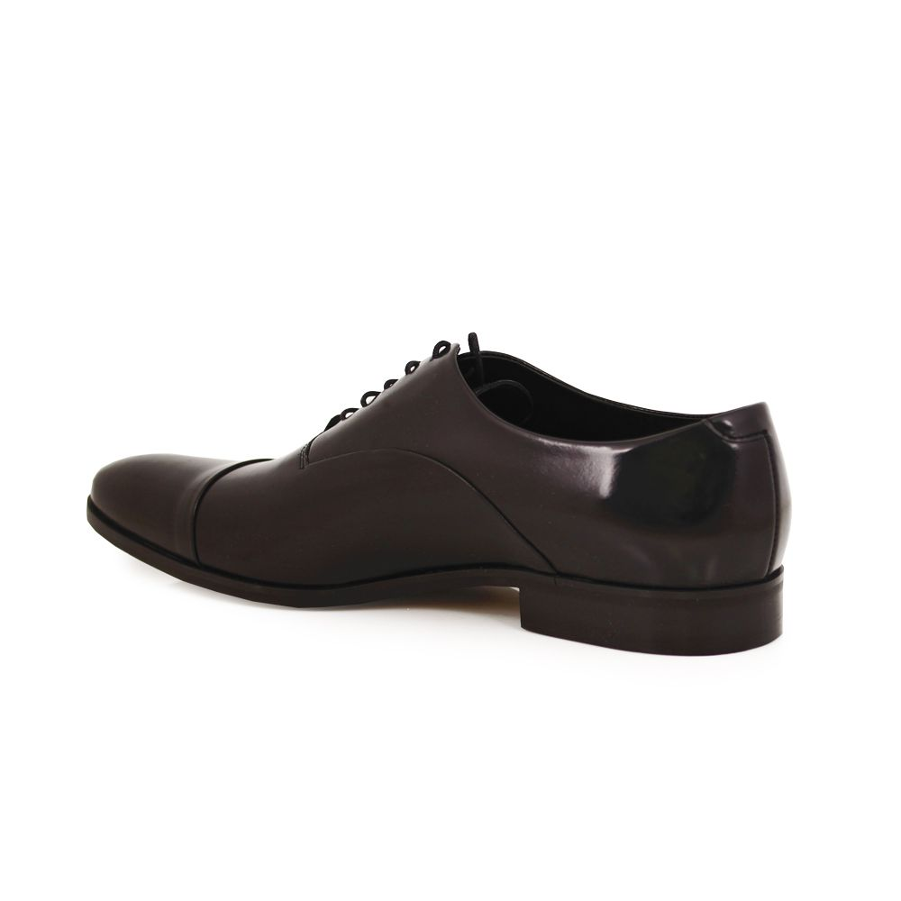 Мъжки официални обувки естествена кожа - 3