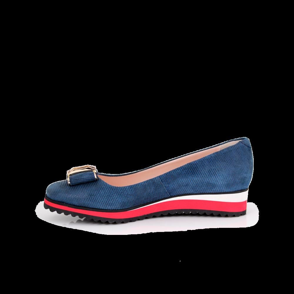 Дамски обувки естествен велур - 2
