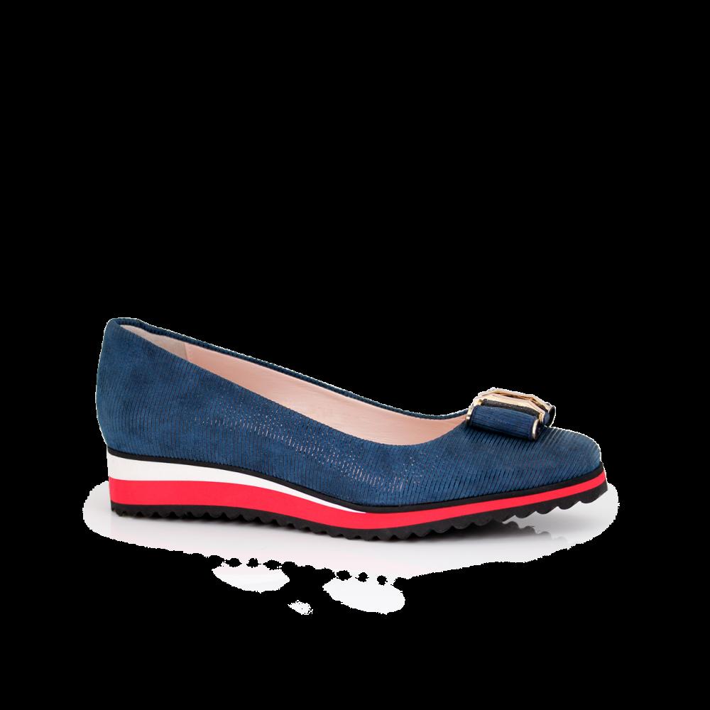 Дамски обувки естествен велур - 1