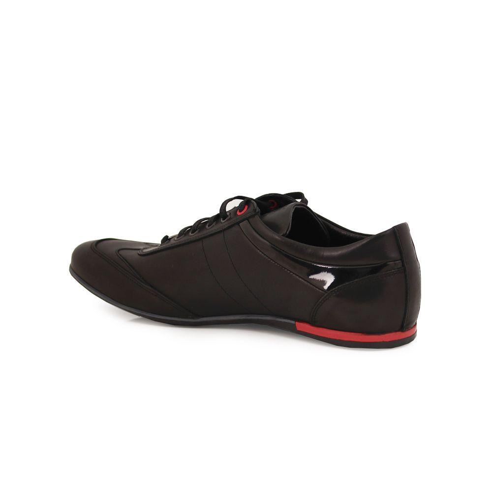 Мъжки спортни обувки от естествена кожа  - 3
