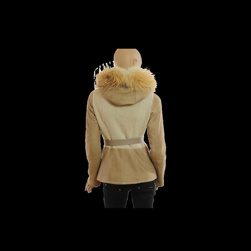 Дамско яке от естествена кожа - 3
