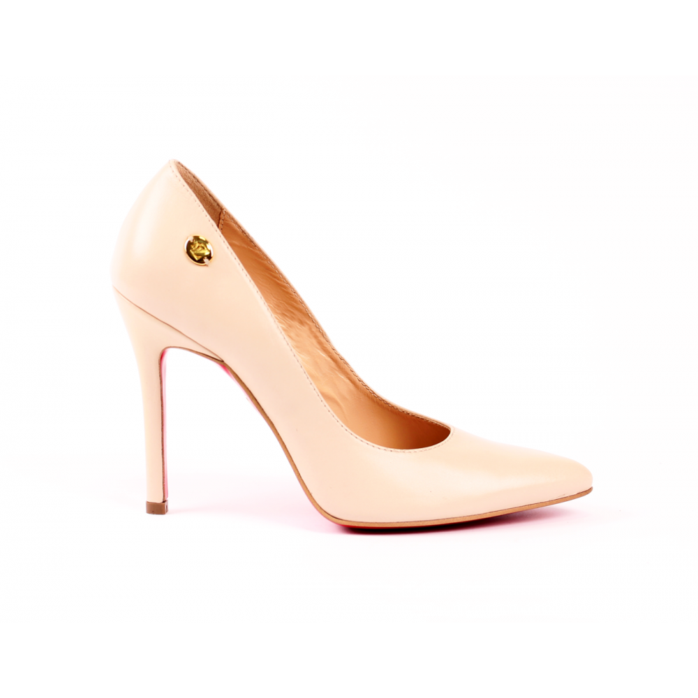 Дамски елегантни обувки от естествена кожа  - 1