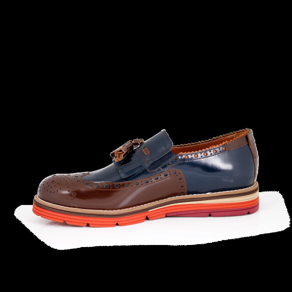Мъжки ежедневни обувки от естествена кожа - 2