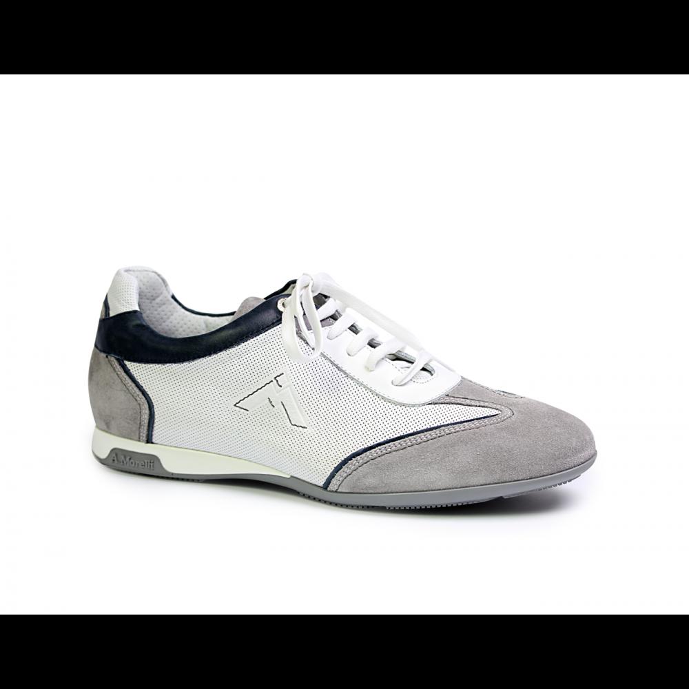 Мъжки спортни обувки от естествена кожа - 1