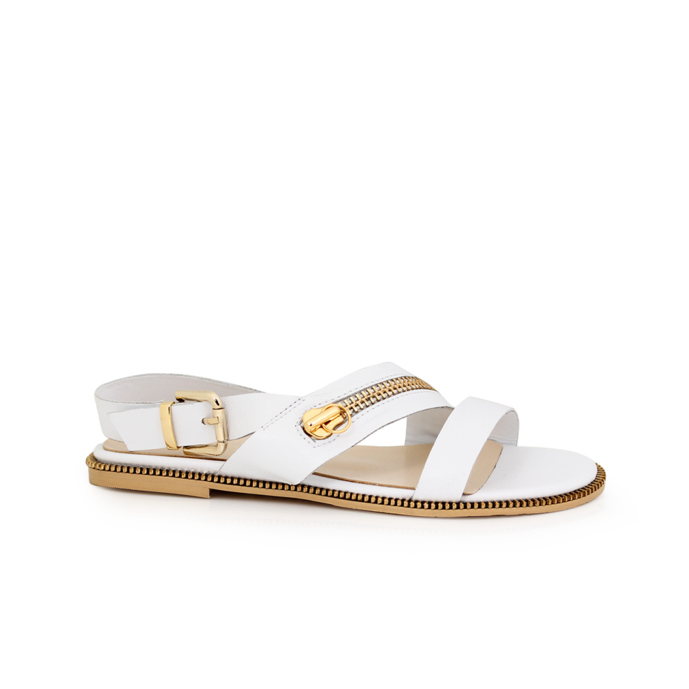 Дамски сандали естествена кожа - 1
