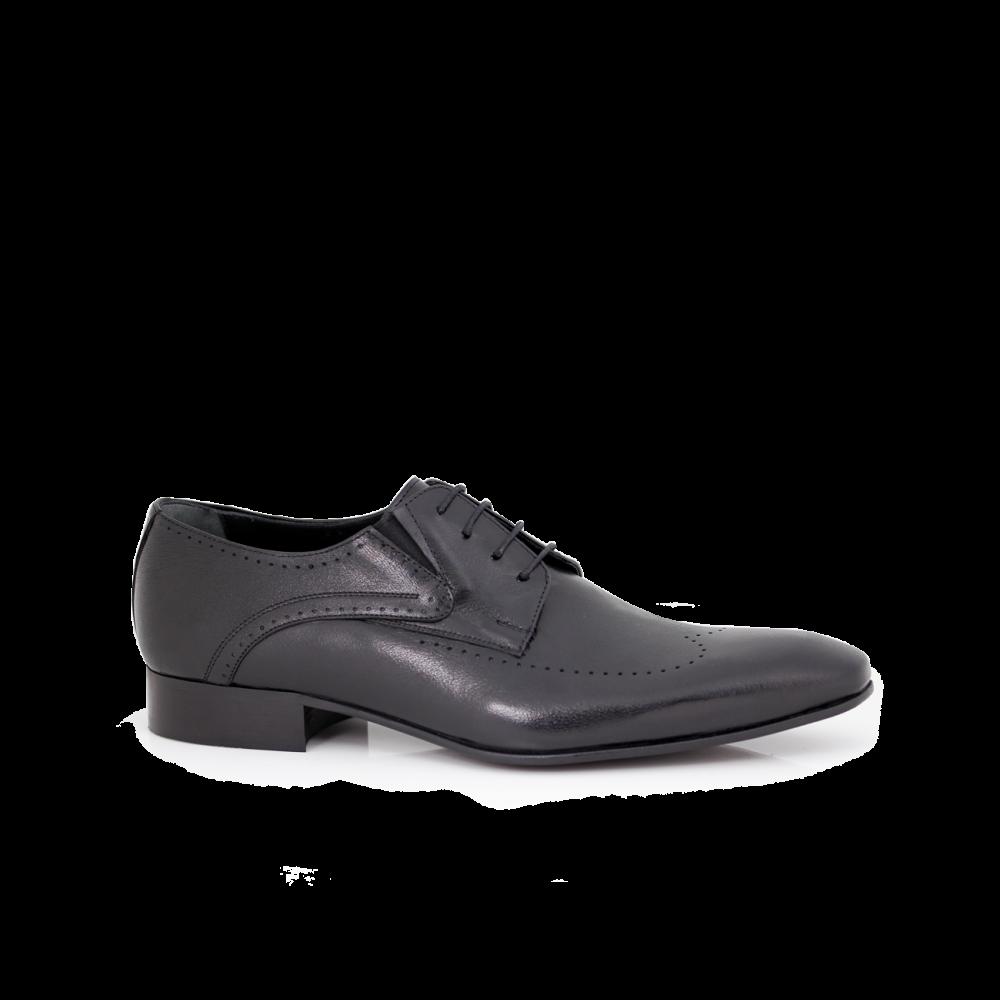 Мъжки официални обувки естествена кожа - 1
