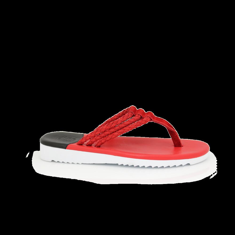Мъжки чехли от естествена кожа - 1