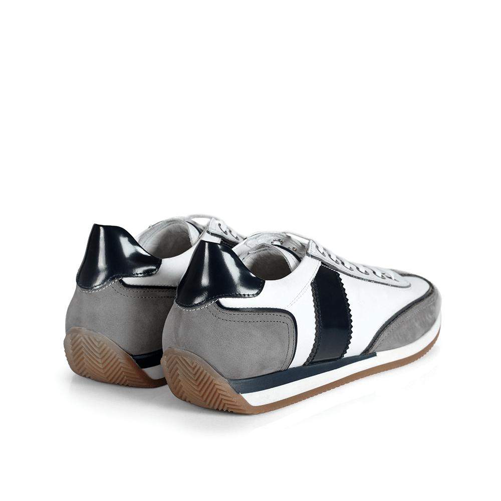 Мъжки обувки от естествена кожа BRC-216101 - 2