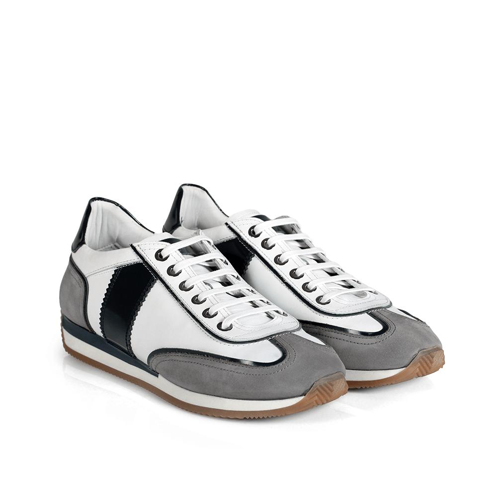 Мъжки обувки от естествена кожа BRC-216101 - 3