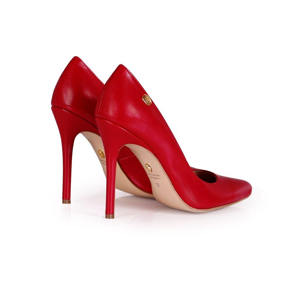 Дамски eлегантни обувки от естествена кожа - 2