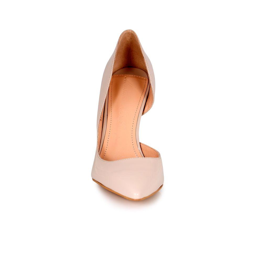 Дамски елегантни обувки от естествен лак - 3