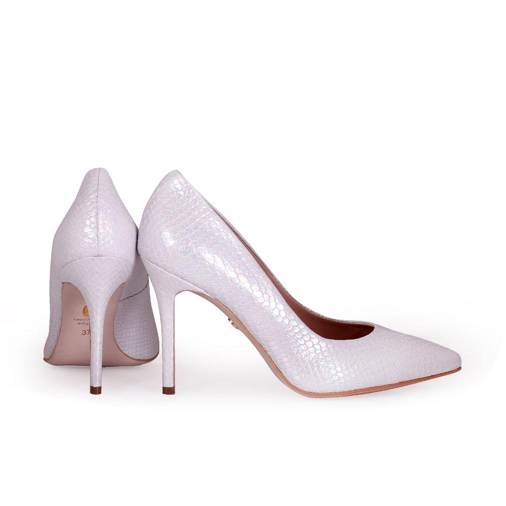 Дамски обувки от естествена кожа - 4