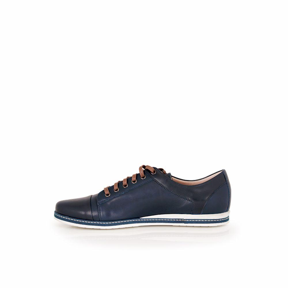 Мъжки спортни обувки от естествена кожа - 4