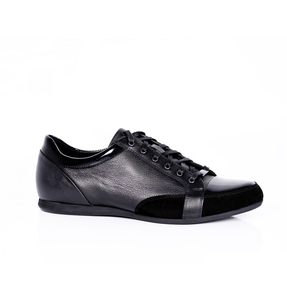 Мъжки спорни обувки от естествена кожа - 1