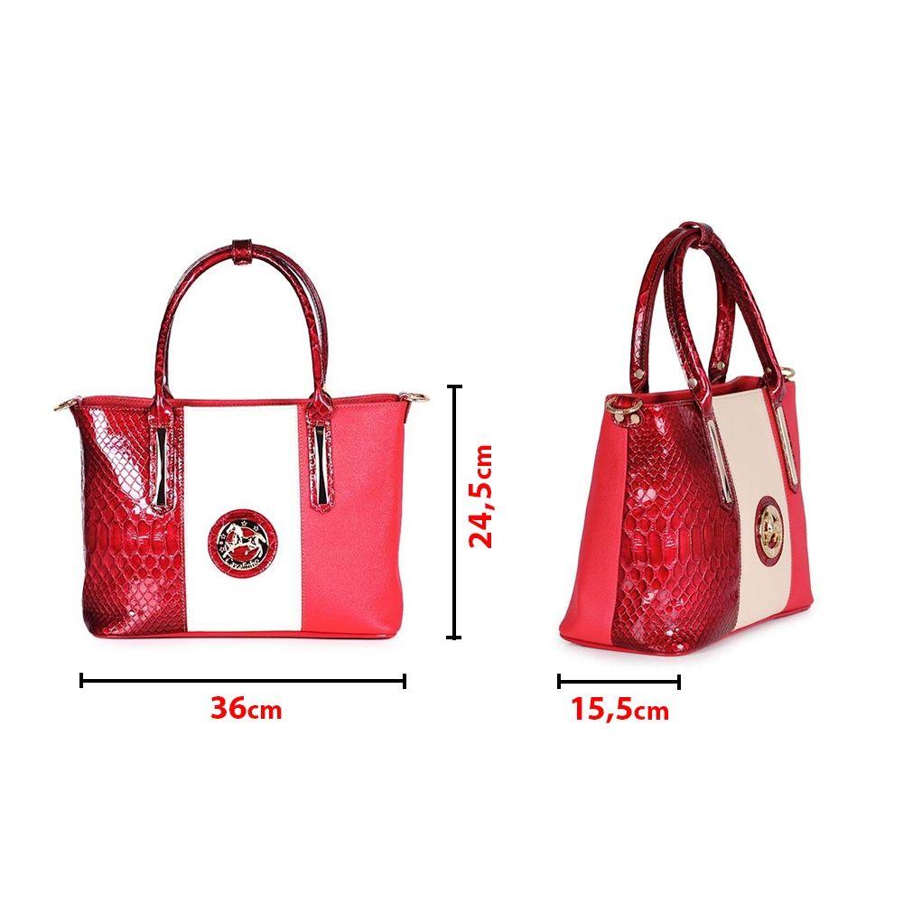 Дамска чанта от естествена и еко кожа - 4