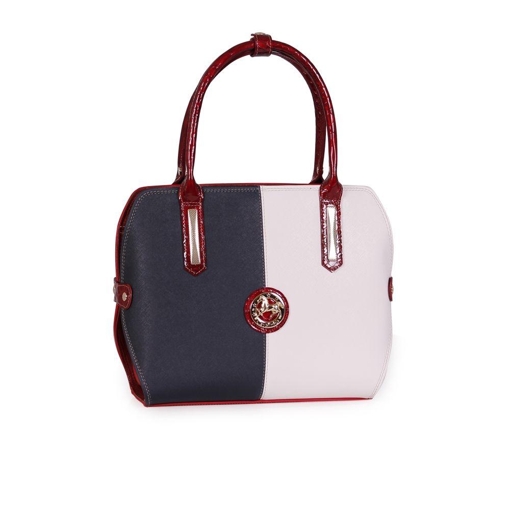 Дамска чанта от естествена и еко кожа - 1