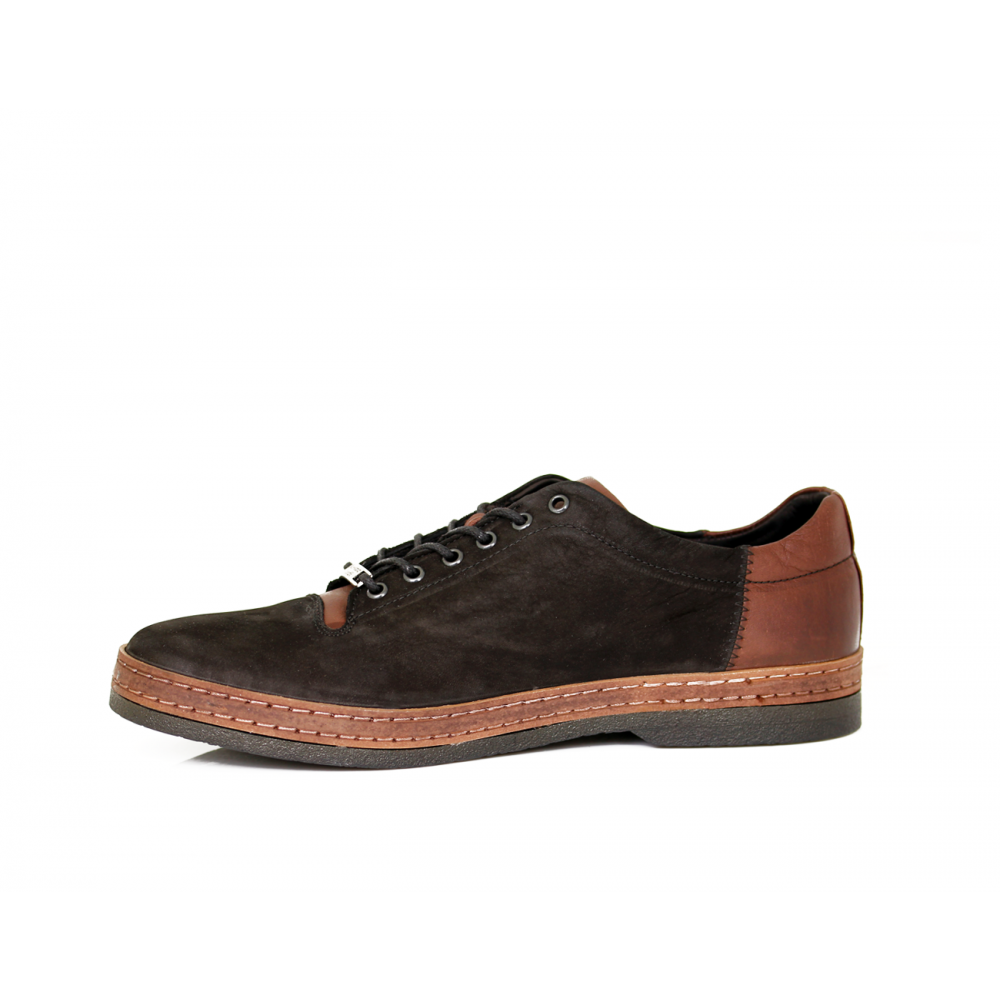 Мъжки спортни обувки от естествен набук - 2