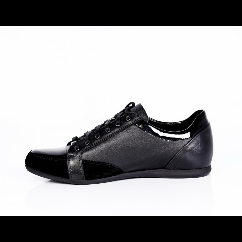 Мъжки спорни обувки от естествена кожа - 2