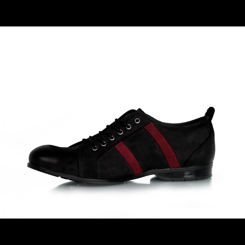 Мъжки обувки черен набук MCP-45585 - 2