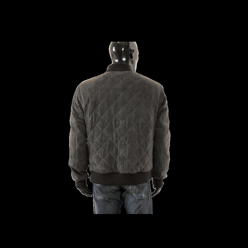 Мъжко яке от естествен велур - 2