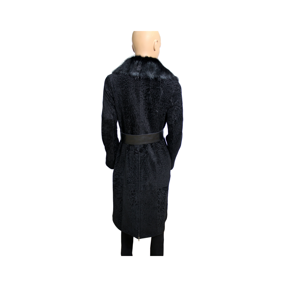 Дамско палто от естествена кожа  - 2