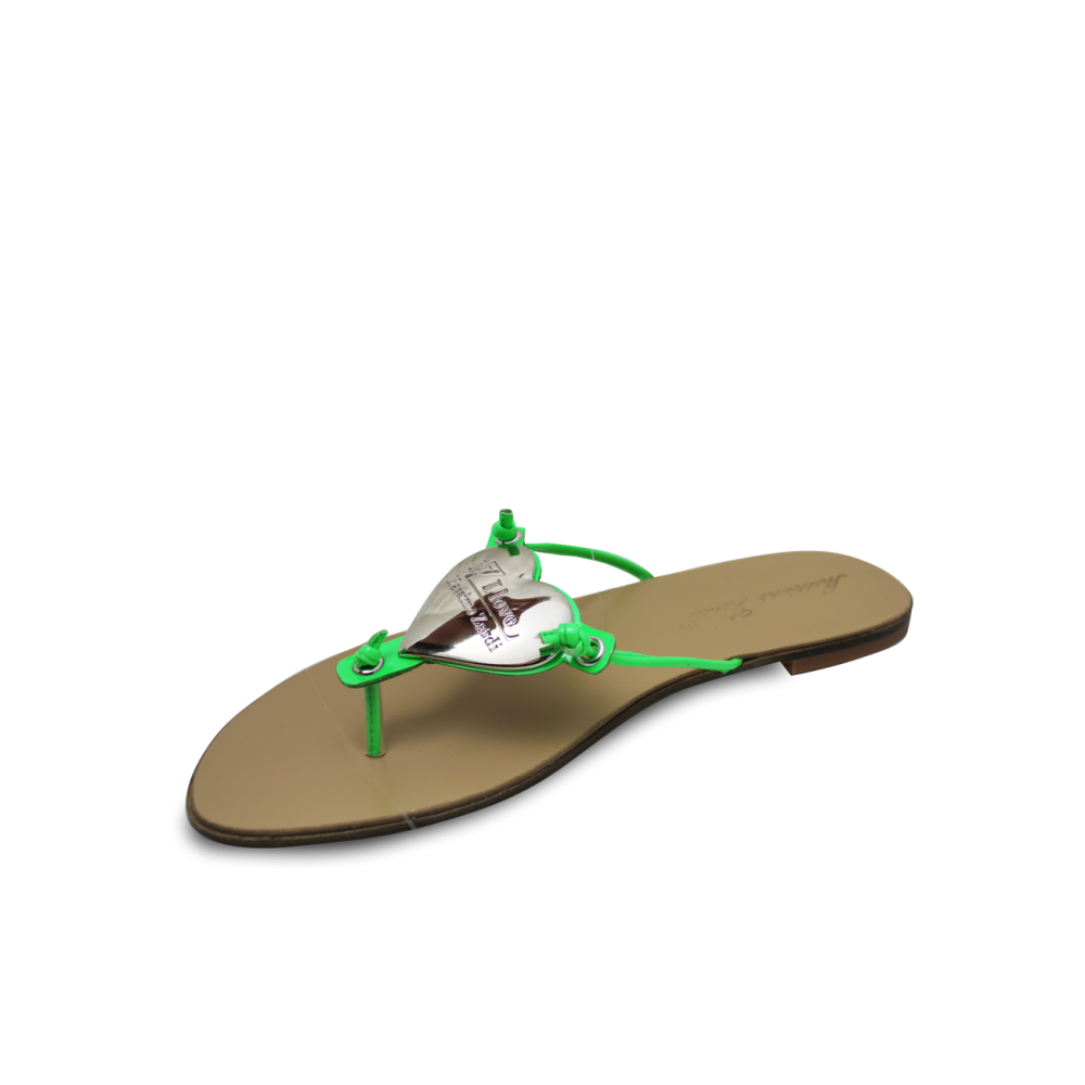 Дамски чехли естествена кожа - 2