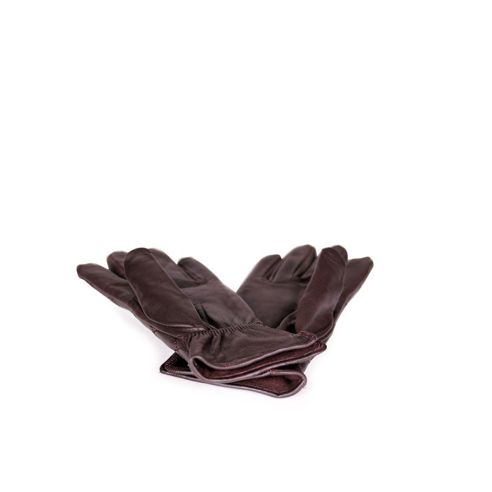 Дамски ръкавици от естествена кожа - 3