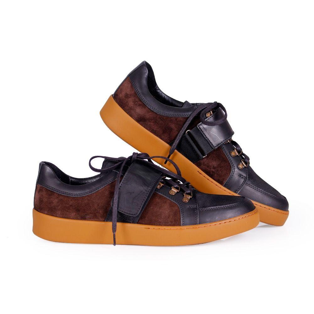 Мъжки обувки от естествена кожа - 4
