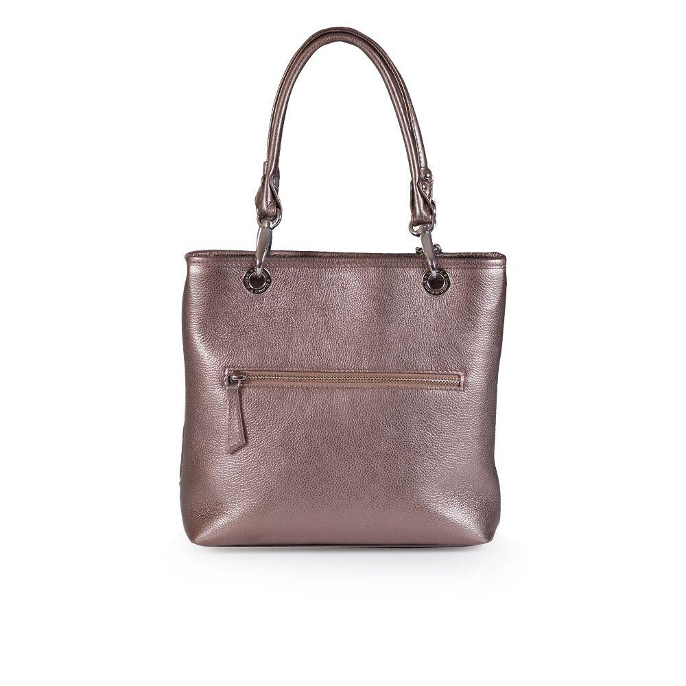 Дамска чанта от естествена кожа - 2