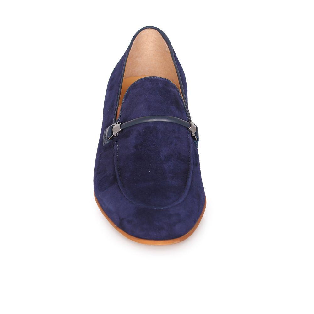 Мъжки обувки естествен набук и кожа - 4