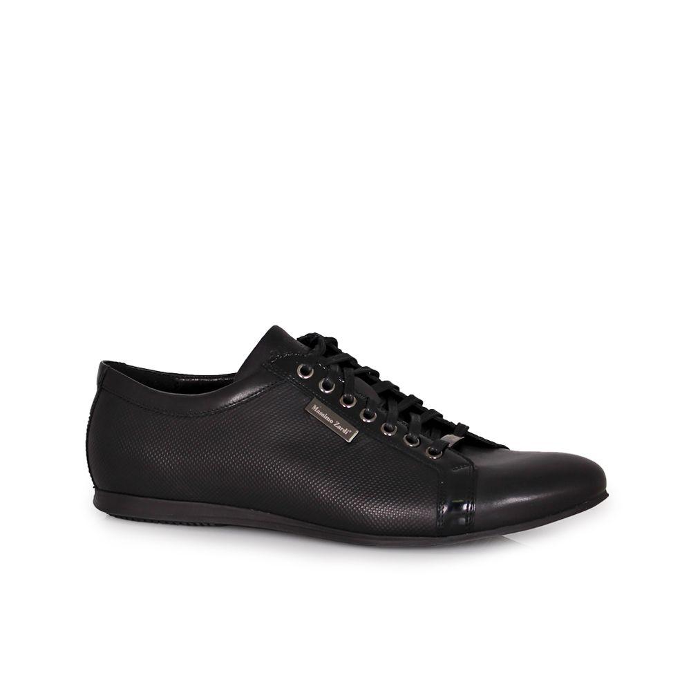 Мъжки спортни обувки от естествена кож - 1