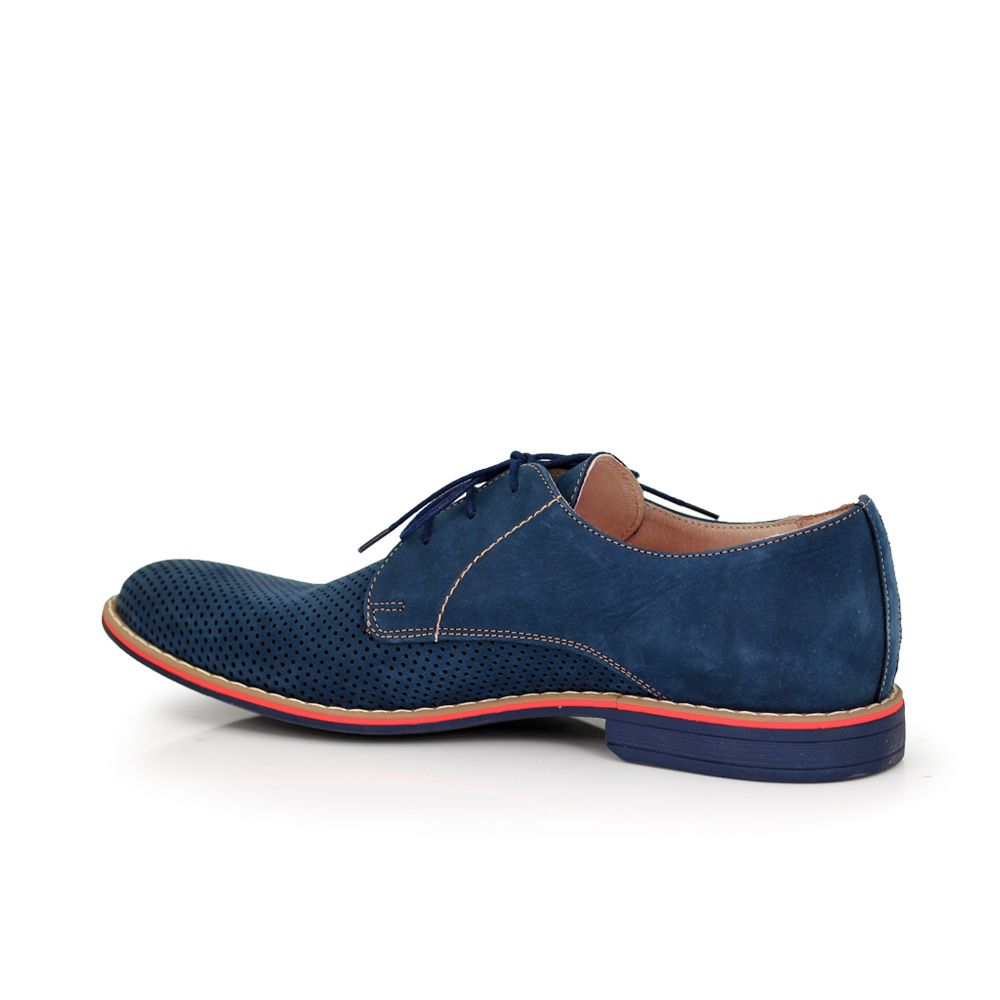 Мъжки обувки естествен велур - 2
