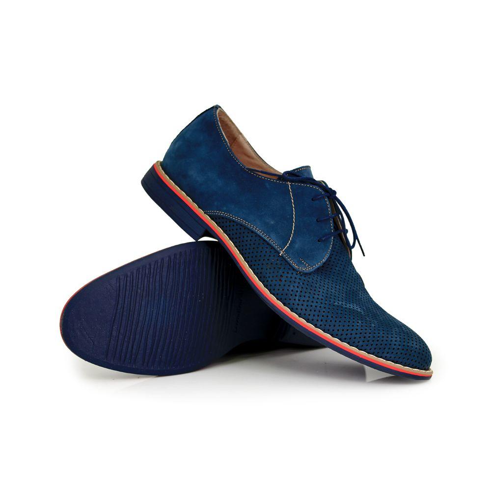 Мъжки обувки естествен велур - 3