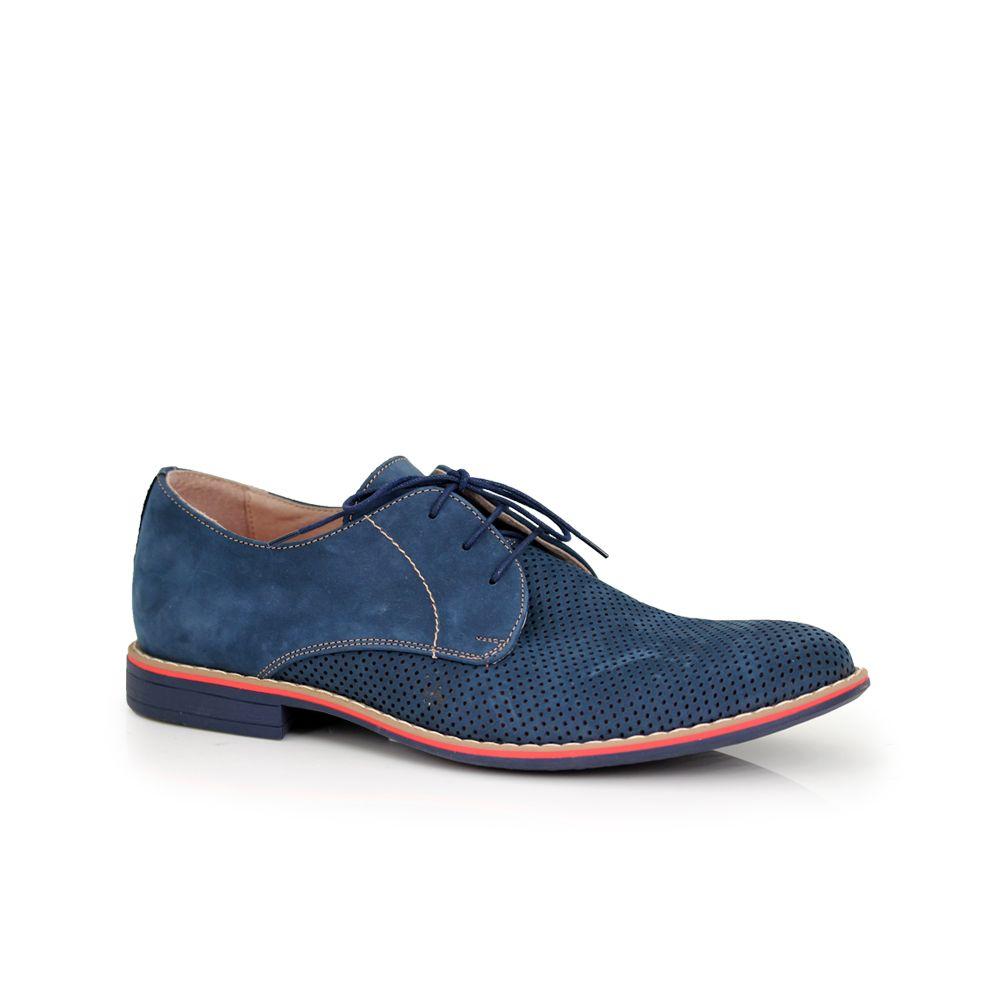 Мъжки обувки естествен велур - 1