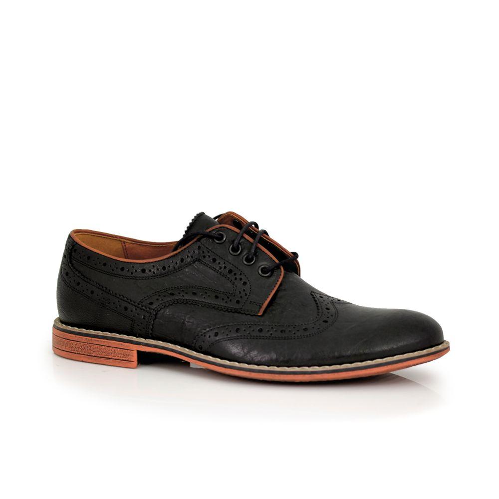 Мъжки ежедневни обувки от естествена кожа  - 1