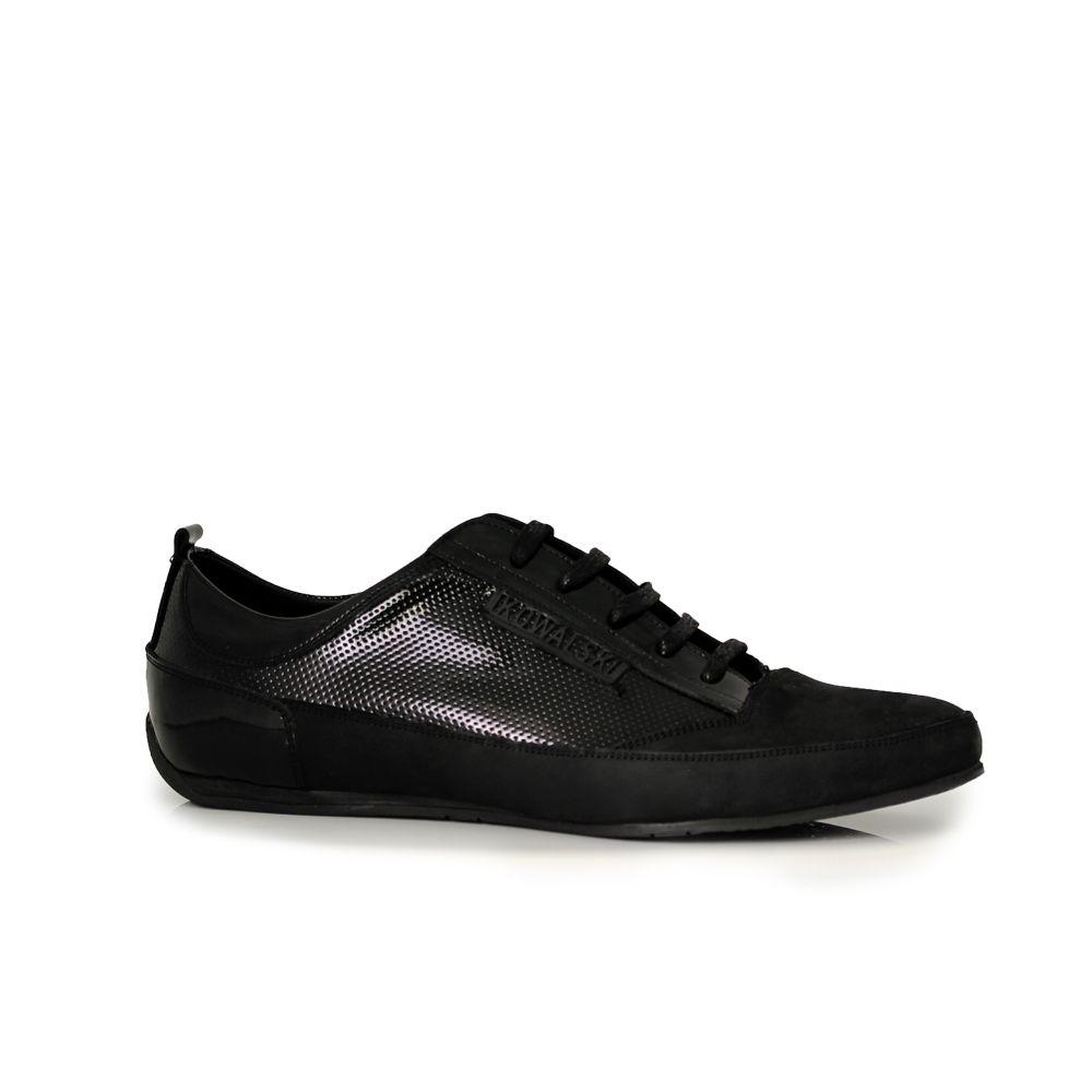 Мъжки спортни обувки от  естествен велур - 1