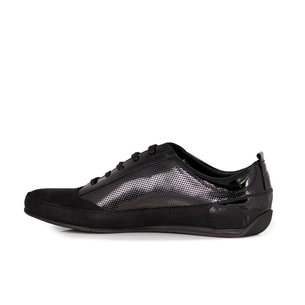 Мъжки спортни обувки от  естествен велур - 2