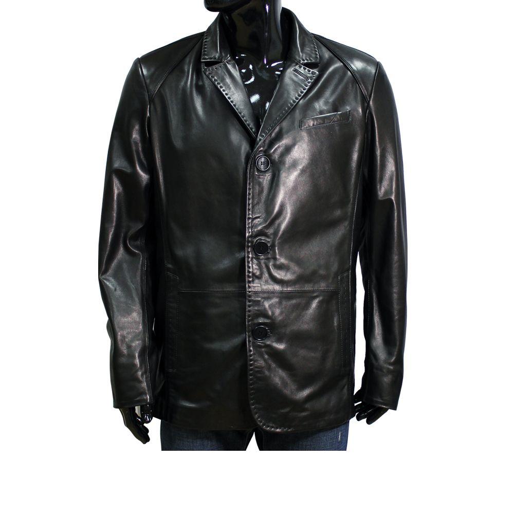 Mъжко яке от естествена кожа - 1
