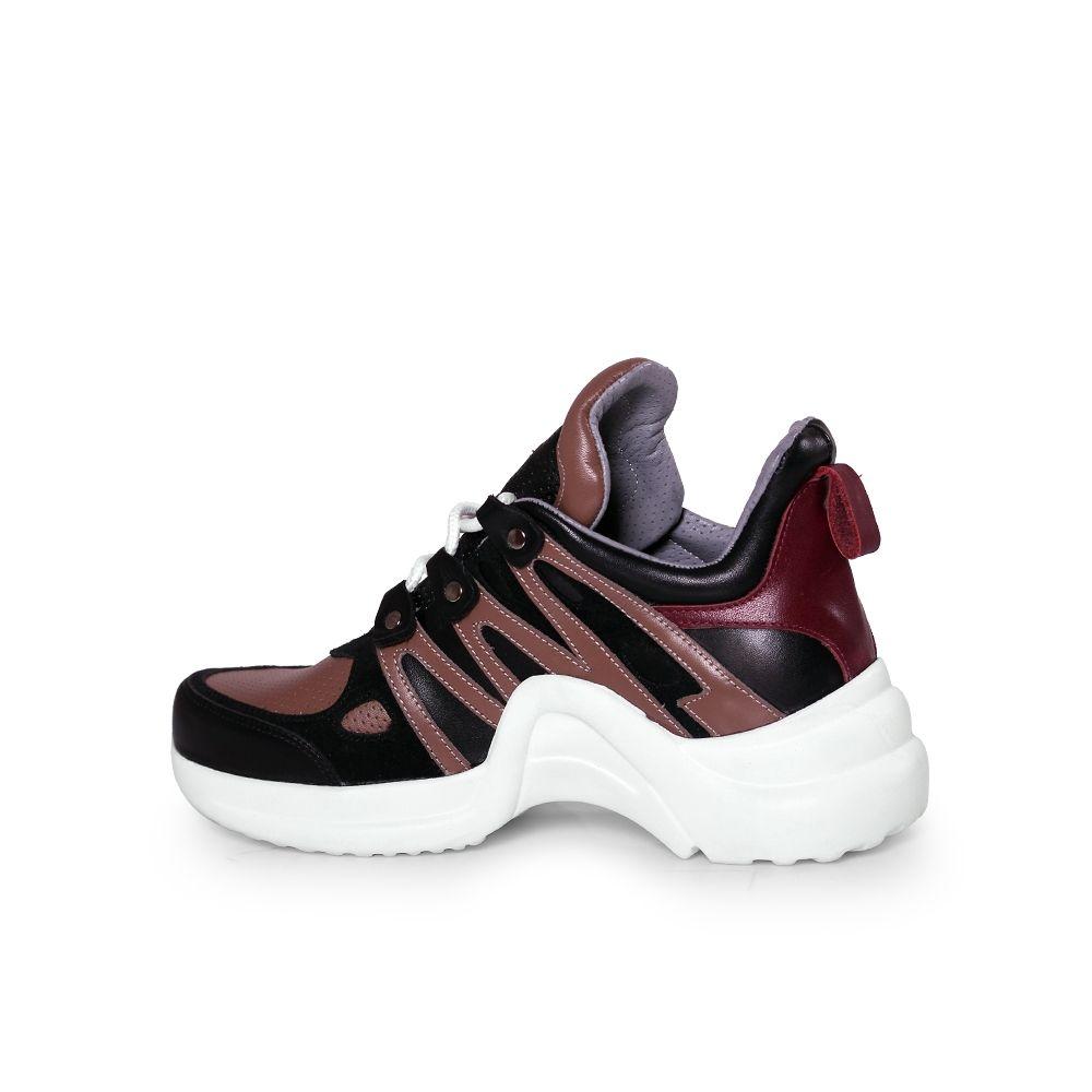 Дамски спортни обувки от естествена кожа SPT-583-210 - 3